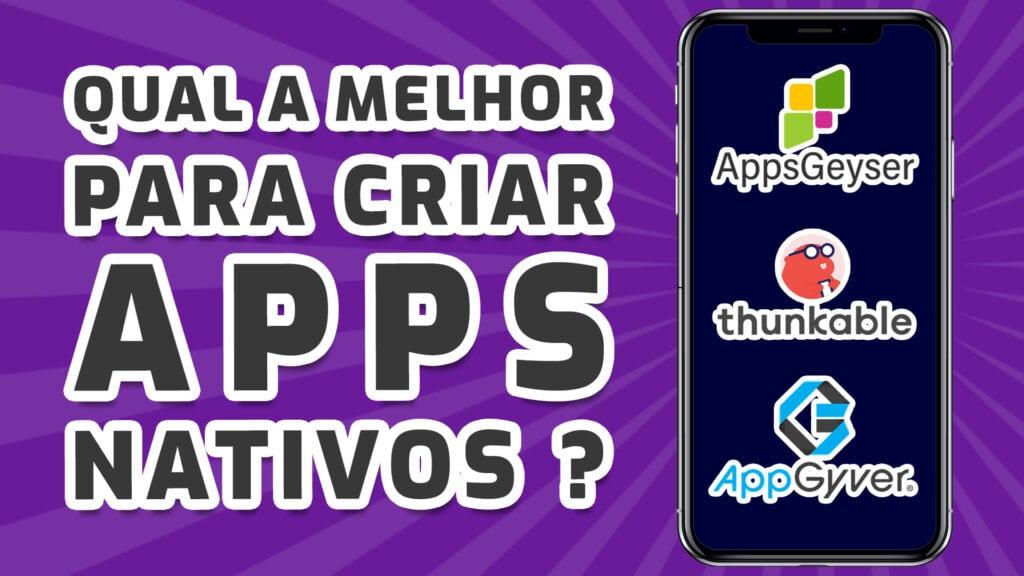 Criar Apps Nativos No-Code